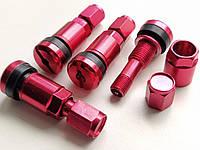 Ниппель, вентиль разборный для литых и стальных дисков (Красный)