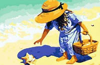 "Картины по номерам ""Ракушка на берегу моря"""