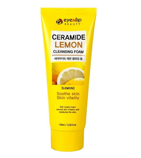 Пінка для вмивання з лимоном Eyenlip Ceramide Lemon Cleansing Foam 100 мл