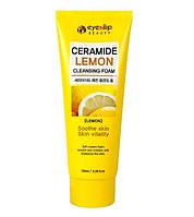Пінка для вмивання з лимоном Eyenlip Ceramide Lemon Cleansing Foam 100 мл, фото 1