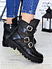 Ботинки натуральная кожа пряжки 6701-28