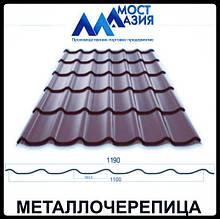 Металлочерепица МостАзия 0,45 мм RAL 8019 МАТ