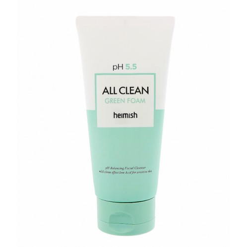 Пенка для умывания с центеллой Heimish All Clean Green Foam 30 мл