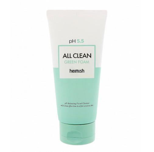 Пінка для вмивання з центеллой Heimish All Clean Green Foam 30 мл