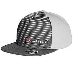 Бейсболка Audi Sport Snapback-cap, Grey, артикул 3131802400