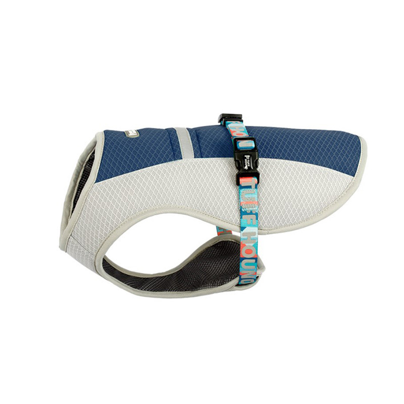 Шлея для собак TUFF HOUND TH00204 Blue S летняя дышащая