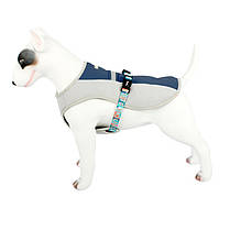 Шлея для собак TUFF HOUND TH00204 Blue S летняя дышащая, фото 3