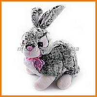 Сизый кролик 36 см мягкая игрушка
