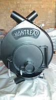 Отопительная печь тип 02 (400м.куб) – MONTREAL, Канадская печь, буллер, печь булерьян, сталь 4мм