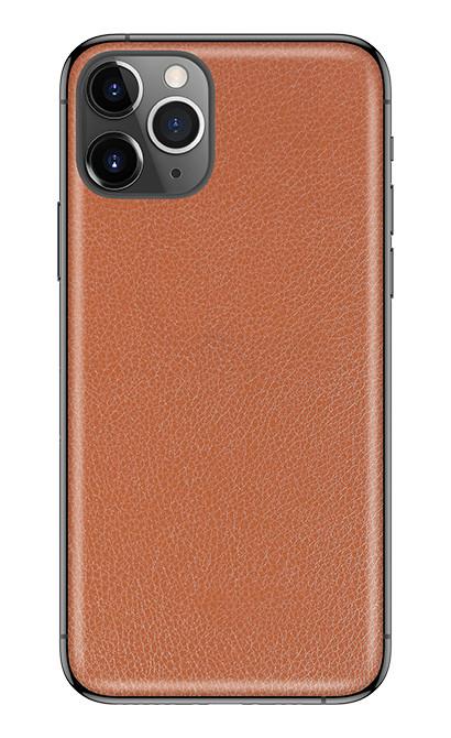 Универсальная пленка на заднюю панель для смартфона З.PROтект Кожа Коричневый (726379)
