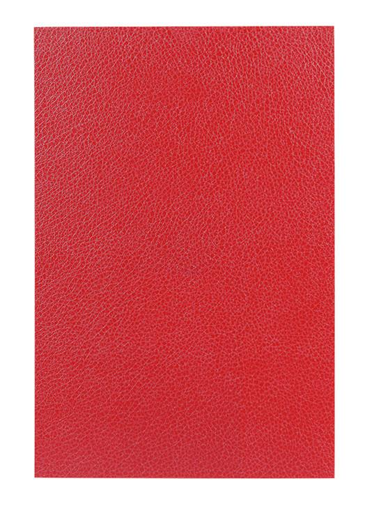 Универсальная пленка на заднюю панель для смартфона З.PROтект Кожа Красный (726393)