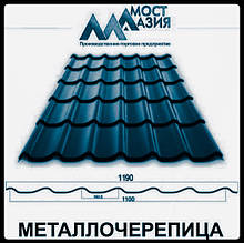 Металлочерепица МостАзия 0,5 мм RAL 5005