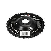 Диск-фреза шлифовально-отрезной Yato YT-59174 125*22,2*5 мм