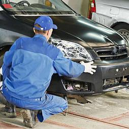 Ремонт бамперов легковых автомобилей