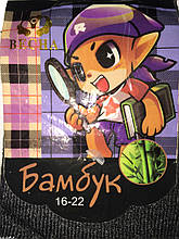 Шкарпетки дитячі бамбук махра всередині Весна р. 16-22