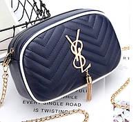 Брендовые клатчи сумки женские Steffania стильные цвет черный синий зеленый
