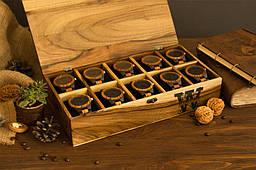 Іменний дерев'яний органайзер для чоловічих елітних годинників. Оригінальний подарунок чоловікові одному хлопцеві босові отцю папі