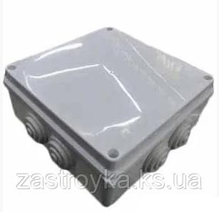 Распред коробка квадратная наружная, 100х100х60мм Харьков
