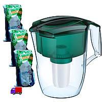 Фильтр-Кувшин с 3мя картриджами/ Аквафор ОКЕАН для очистки воды