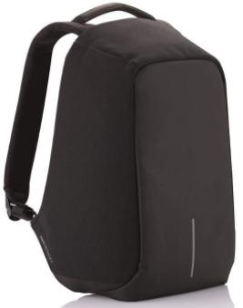 Городской рюкзак антивор Bobby bag black (Черный).