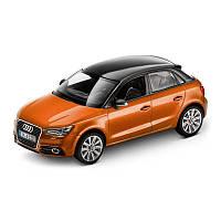 Модель Audi A1 Sportback, Samoa orange, Scale 1 43, артикул 5011201023
