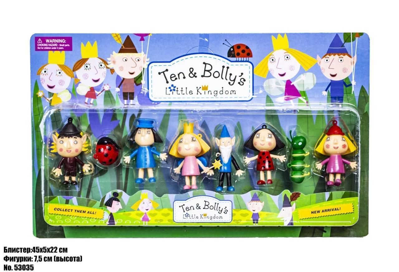 Ігровий набір фігурки Ben & Holly в блістері