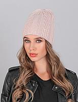 Женская шапка двойная LaVisio.Пудра 530-055