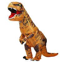 Надувной костюм Тираннозавра, T-Rex косплэй, костюм динозавра T-Rex. Тиранозавр надувной