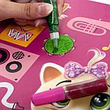 Набор для творчества «Сияющие картинки. 44 Котёнка» (укр) VT4422-01, фото 3