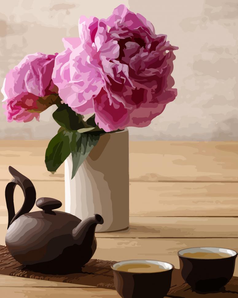"""Картина по номерам. Art Craft """"Чайная церемония"""" 40*50 см 12122-AC"""