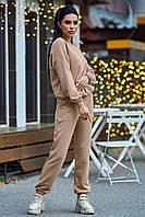 Модный повседневный костюм трехнитка 42-50 размеры разные расцветки