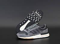 """Кроссовки мужские Adidas ZX 500  """"Темно-серые"""" адидас размер 41, 42, 45, фото 1"""