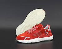 """Кроссовки мужские Adidas Nite Jogger """"Красные""""  р. 41-45, фото 1"""