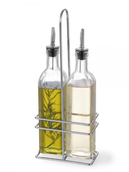 Набір для спецій Hendi (оцет/масло) 2 предмета 237мл 11,5х6 см h32,5 см (460245)