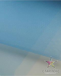 Фатин жесткий светло-голубой