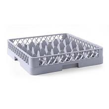 Касета для столових приладів для посуд. машин Hendi для скла 25 елементів 50х50 см h10,4 см (877036)
