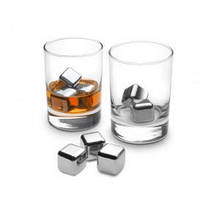 Камені Kamille для охолодження віскі та інших міцних напоїв 6 штук з нержавійки (7793 K)