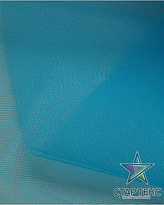 Фатин жесткий ярко-голубой