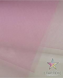 Фатин жесткий светло-розовый