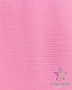 Фатин жесткий розовый