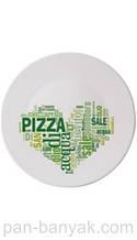 Тарілка для піци BormioliRocco Piatti Pizza I Love Pizza Gree d33 см склокераміка (419320-752 BR)