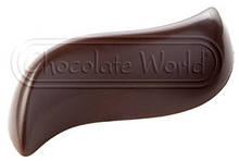 """Форма для шоколада Chocolate World  """"волна"""" 2і штука 7мл 5х2,5 см h1,5 см поликарбонат (1848 CW)"""