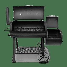 Коптильня гриль с подставкой для углей и чугунной решеткой Oklahoma Joe's Highland SMOKER/GRILL 15202031