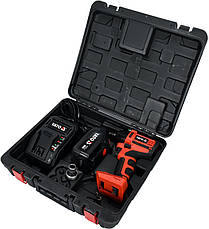 Аккумуляторный бесщеточный гайковерт 250 Нм YATO YT-82802, фото 2