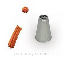 Насадка для кондитерского мешка Martellato  d1,3 см нержавейка (BX1713)