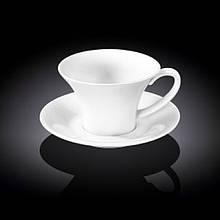 Чашка чайная с блюдцем Wilmax  240мл фарфор (993170 WL)