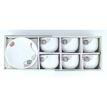 Набор чайный La Opala Royal Twist 12 предметов 220мл опаловое стекло (11120)