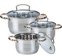Набір посуду Maestro 6 предметів нержавійка (3520-6 MR)