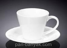 Чашка чайная с блюдцем Wilmax  180мл фарфор (993004 WL)