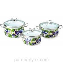 Набір посуду Epos Фуксія 6 предметів емаль (№1000 Фуксія)